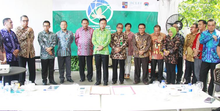 12 Kepala Daerah Sepakati Tri Karsa Bogor