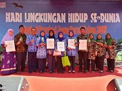 Penerima Penghargaan Adiwiyata tingkat Provinsi Jawa Barat