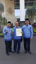 Dinas Lingkungan Hidup Kota Bogor menerima penghargaan DIKPLH