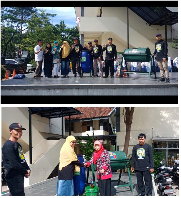 Pemilahan Sampah DI SMAN 4 Kota Bogor