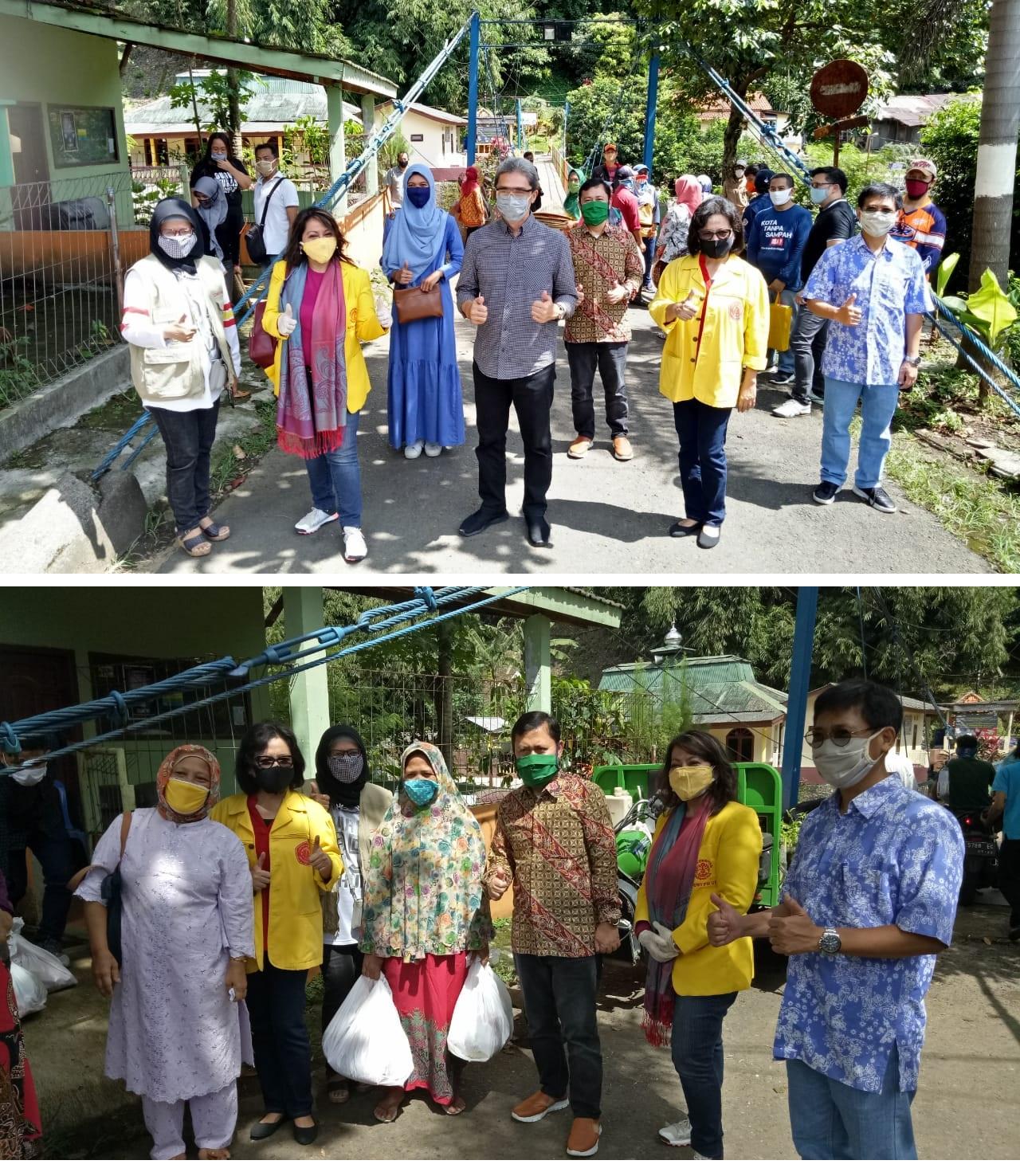 Bakti Sosial di Kelurahan Sempur Kecamatan Bogor Tengah